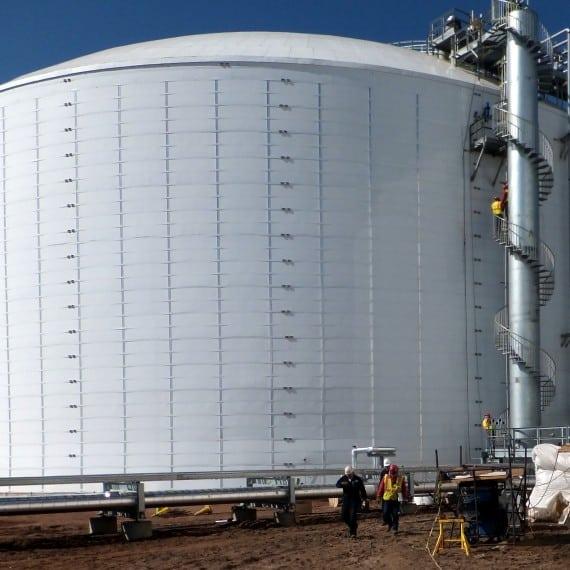 North Dakota Ammonia Storage 170'Dx66'H