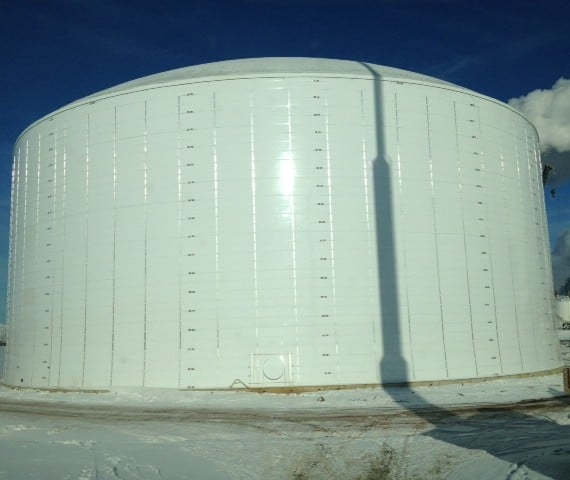 Ammonia Tank - Dakota Gasification